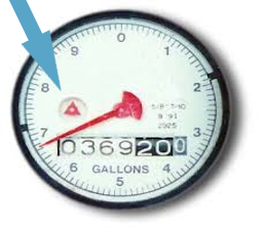Water Meter Leak Indicator